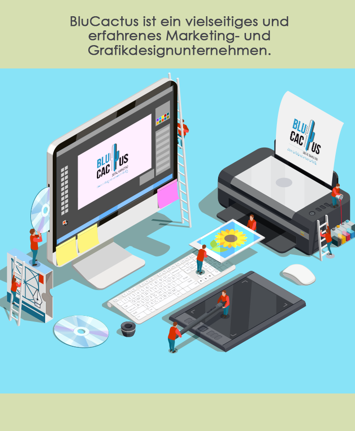 BluCactus - Grafikdesign Auswirkungen eines starken Grafikdesigns auf ein Unternehmen