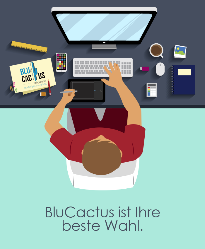 BluCactus Design Agentur BluCactus ist die beste Wahl