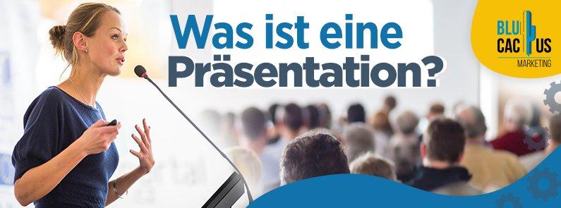 Was ist eine Präsentation? - title