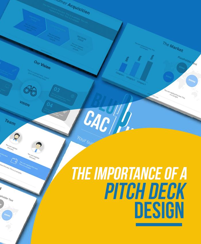 BluCactus - Die Bedeutung eines Pitch Deck Entwurfs