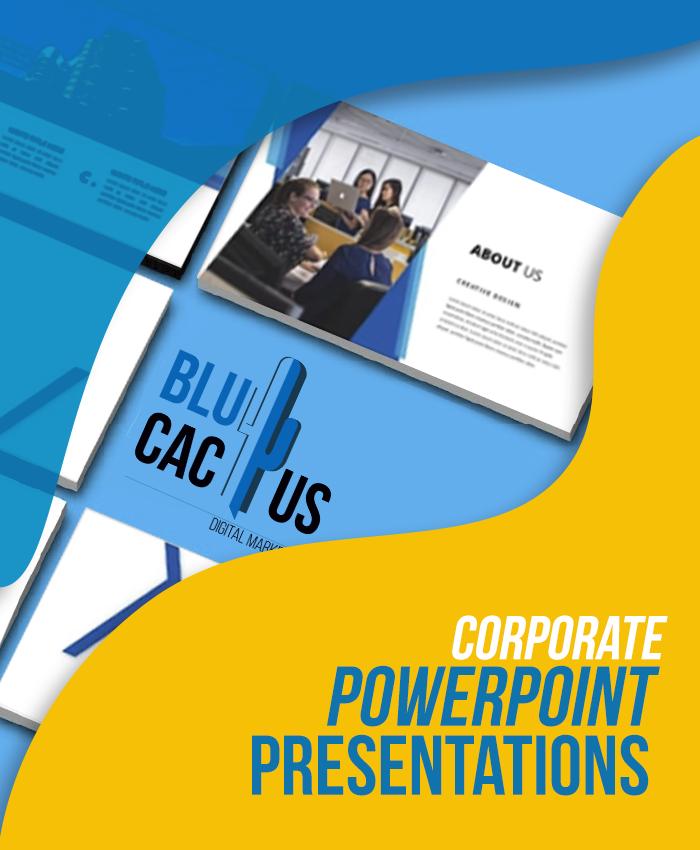 BluCactus - Geschäftliche PowerPoint Präsentationen erstellen lassen