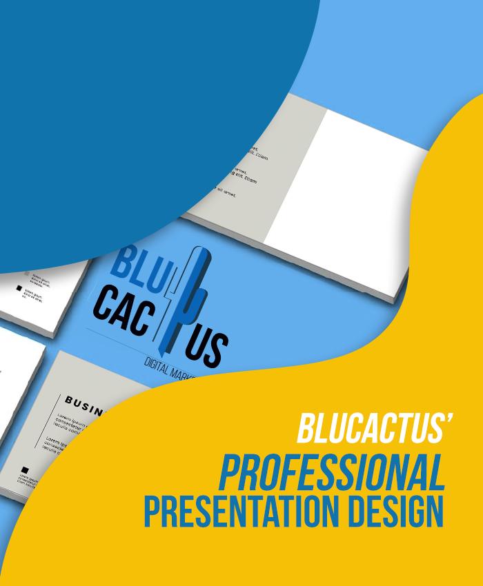 BluCactus Präsentationsagentur - Professionelle Firmenpräsentationen von BluCactus