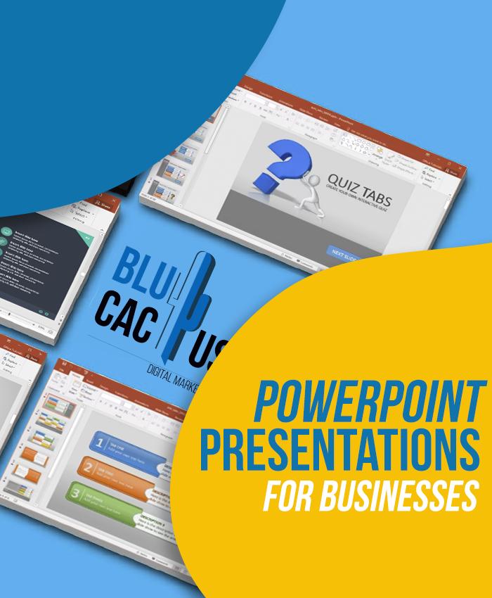 BluCactus - Präsentationsagentur für Unternehmen